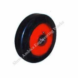 CI Rubber Coated Wheels