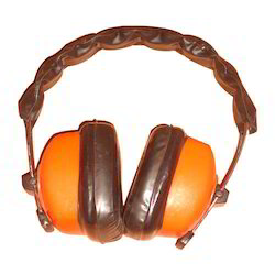 Orange Hearing Protection Ear Muffs