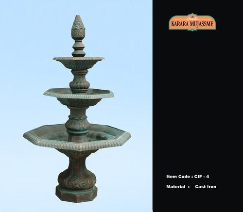 Cast Iron Three Tier Fountains