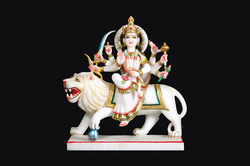 Marble Durga Mata Idols