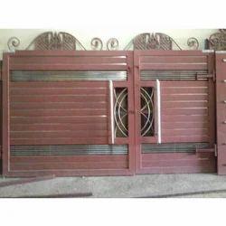 Wooden and Steel Gates - Steel Gate Manufacturer from Jalandhar