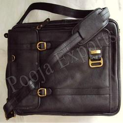 Leather Office Backpack Bag