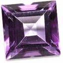 Amethyst Square Cut Gemstone