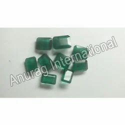 Green Polished Emeralds