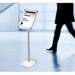 Floor Standing POS Sign Holder