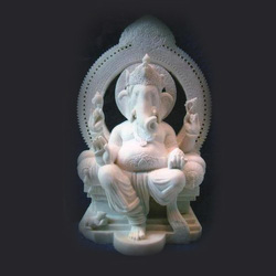 GA-4003 Ganesh Marble Statue