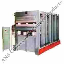 Hydraulic Sheet Curing Press