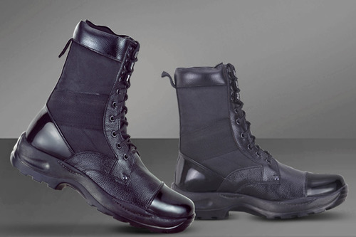 Black Army Boots, Field Boot, Indian