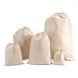 Cotton Drawsting Bag