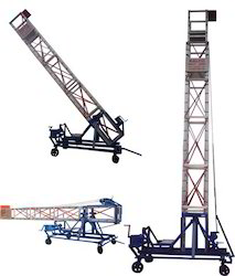 Aluminium Extendable Tower Ladder Tiltable