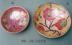 Multicolor Bowl Brass Traditional Handicrafts, Size: 6