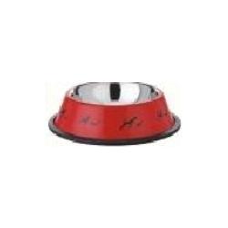 Coloured Antiskid Dog Bowls