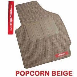 Popcorn Beige Foot Mats