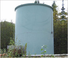 Measuring Storage Tank