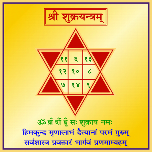 Shukra Yantra - View Specifications & Details of Shree