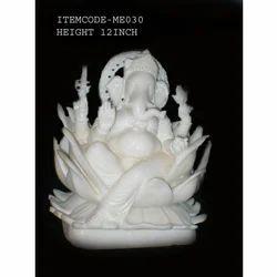 Lotus Ganesha Statue