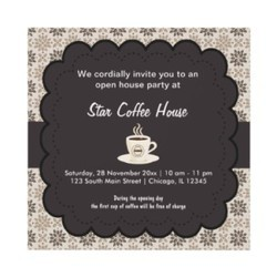 Opening Invitation Cards