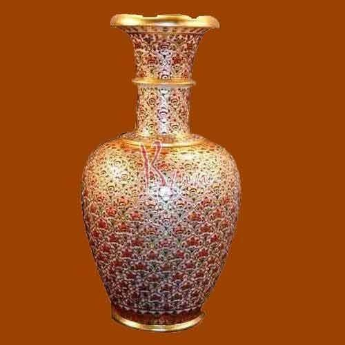 Gold Plating Marble Vase B M Natha Exports Exporter In