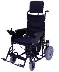 Detachable Back Rest Wheelchair Powered