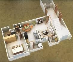 1BHK Flat In Central Line