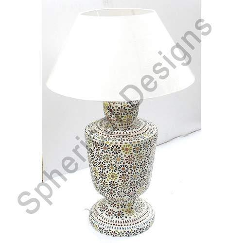 Glass Mosaic Table Lamps