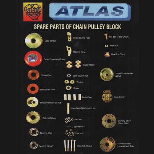 Chain Pulley Block Spare Parts