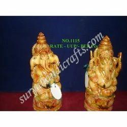 Resin Ganesh Ji With Three Face