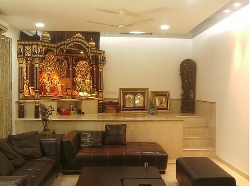 Puja Room Interior Designing Decoration