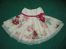 British Flowers Skirt