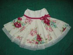 Machine Wash Party Wear British Flowers Skirt