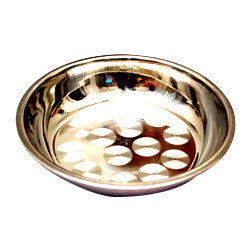 Stainless Steel Pudding Dish Bowl, Usage: Home
