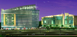 Construction Of Commercial Spaze Tech Park in Gurgaon