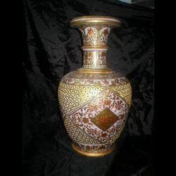 Jali Design Marble Flower Vase