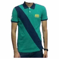 Green and Blue Mens T-Shirt