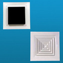 Cosmic Al. Tegular Diffusers, For Industrial, Shape: Square