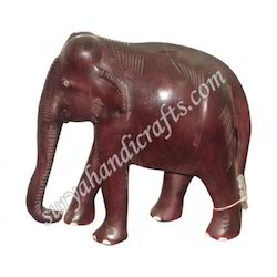 Wooden Rose Wood Elephant