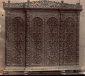 Wood Carved Cabinet