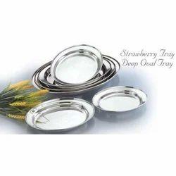 Deep Oval Tray Set
