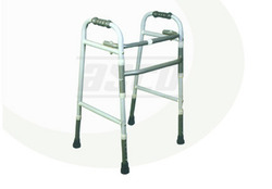 Deluxe Walker Folding With Height Adjustment
