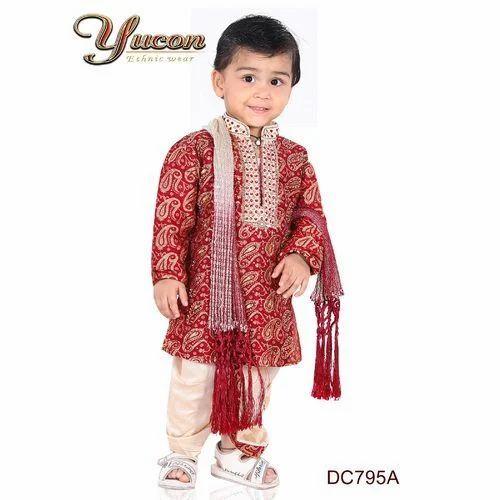 9b4279552076 Dhoti Kurta Set, Kids Ethnic Wear | Mg Road, Kolkata | Nikon Wears ...