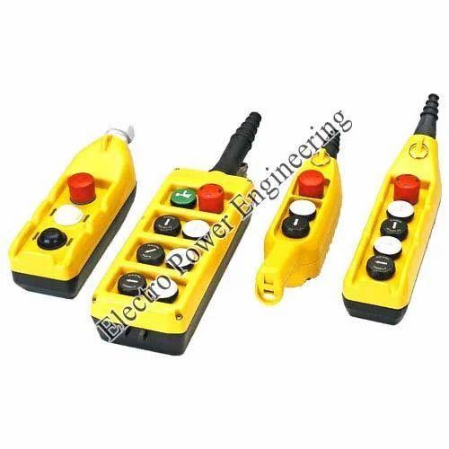 Push button pendant station 220 v rs 2600 unit electro power push button pendant station 220 v aloadofball Choice Image