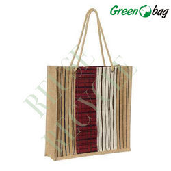 Green Jute Promotional Shopping Bags