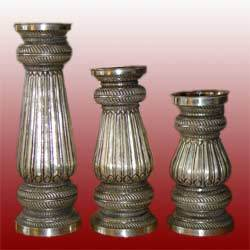 Antique Metal Vase