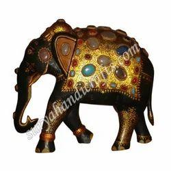 Wooden Stone Elephant