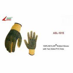 Kevlar Knitted Gloves-Dark Green