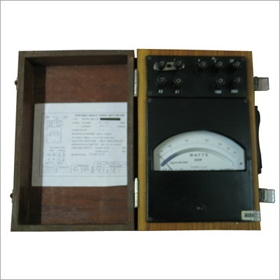 KEW Single Portable Analog Watt Meter, Electric, Voltage: 220-240 V