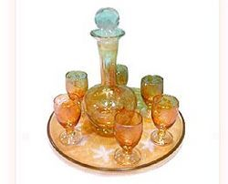 Glass Bar Set