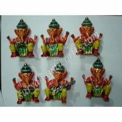 Meena Painting Ganesh Musican Set