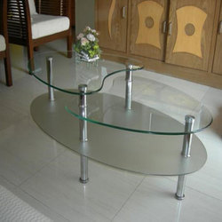 Glass Center Table Glass Table Saijpur Bogha Ahmedabad Ms