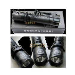 Aluminum LED Torch Type Stun Gun
